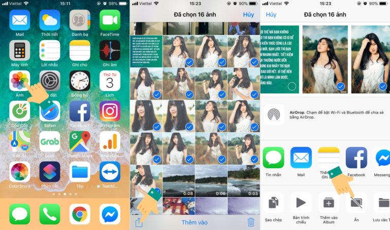 Thủ thuật ẩn giấu hình ảnh trên iPhone