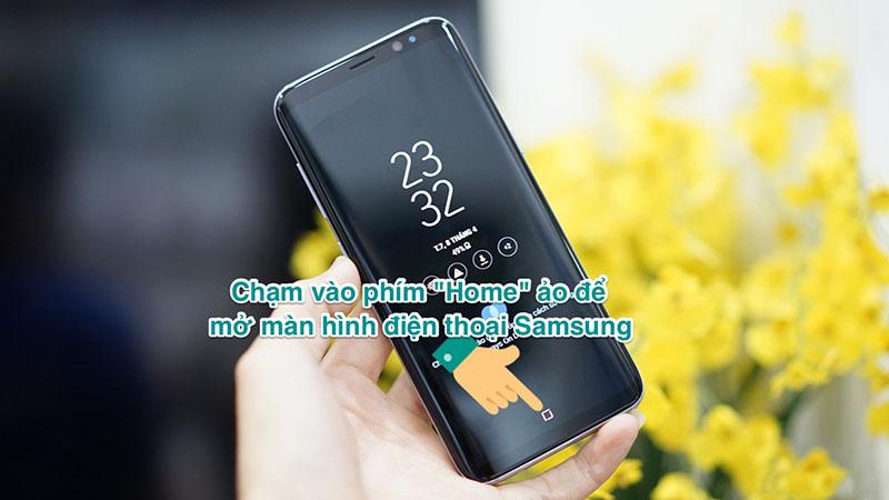 Cách chạm 2 lần mở màn hình trên điện thoại Samsung chạy Android cũ