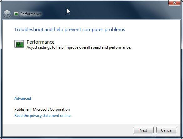 Cách khắc phục máy tính chạy chậm trêm Win 7 đơn giản 9