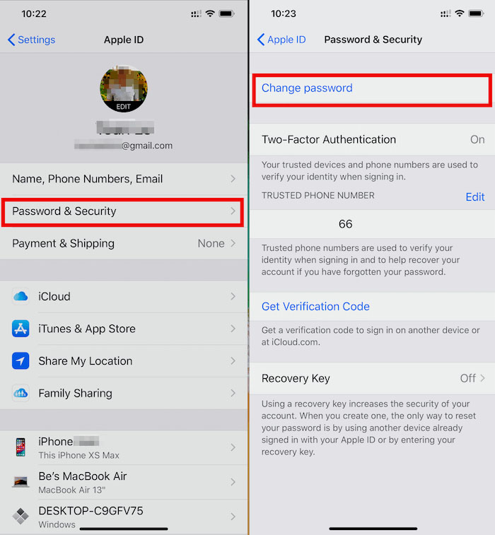 Cách lấy lại mật khẩu Apple ID và iCloud khi bị quên 2
