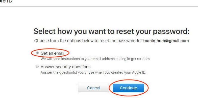 Cách lấy lại mật khẩu Apple ID và iCloud khi bị quên trên máy tính 4