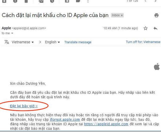 Cách lấy lại mật khẩu Apple ID và iCloud khi bị quên trên máy tính 6