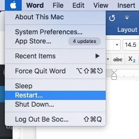 Cách reset Macbook 7
