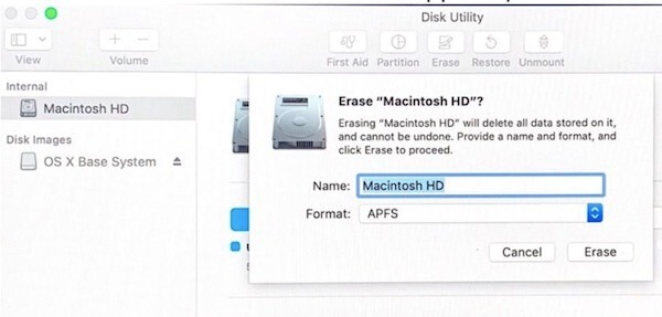 Cách reset Macbook 9