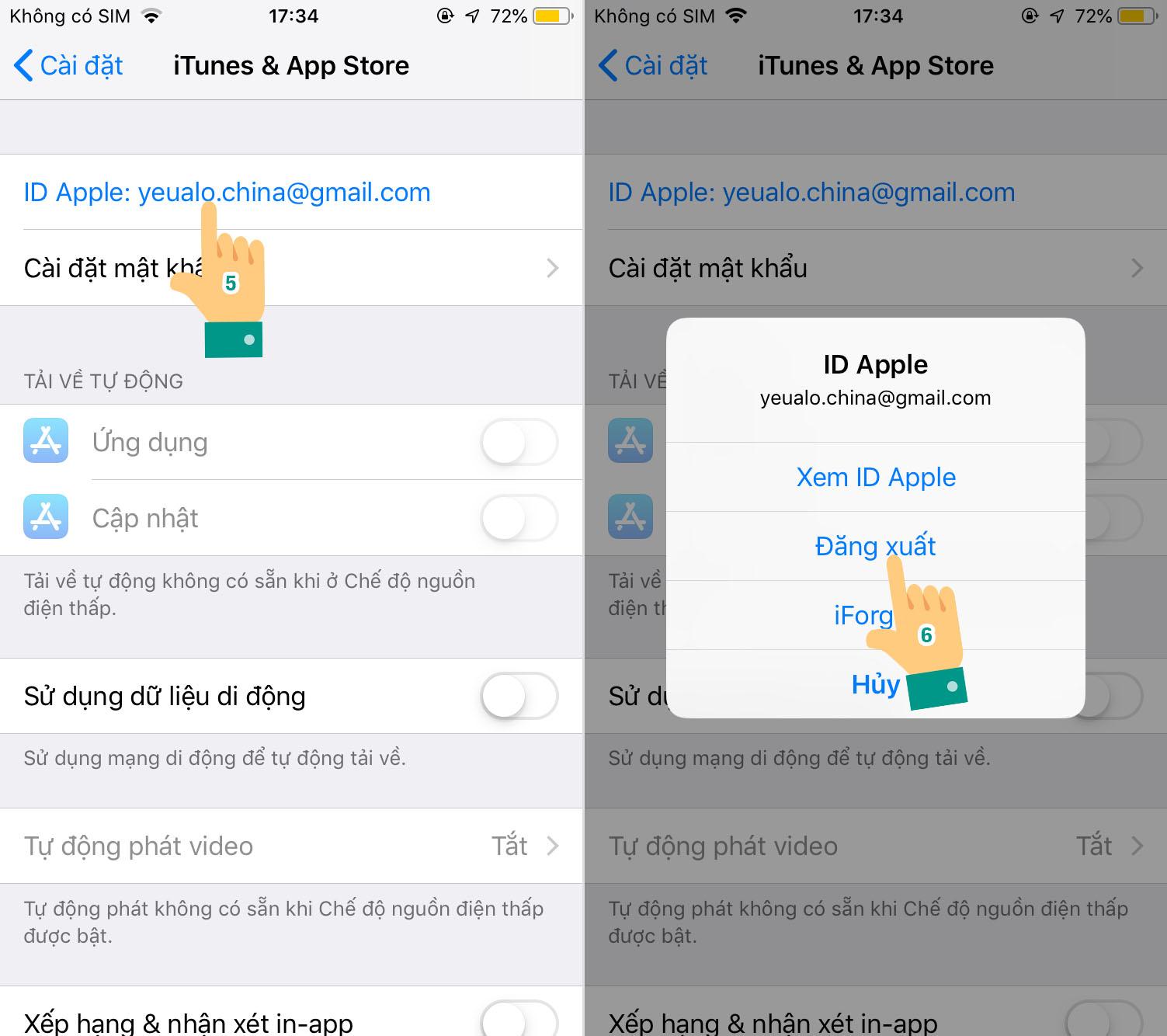 Cách tải TikTok Trung Quốc cho iPhone bằng tài khoản có sẵn Bước 3