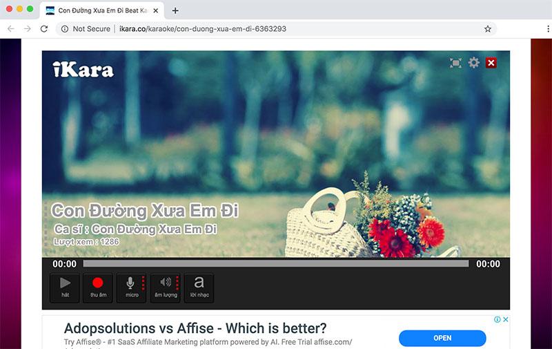 Phần mềm hát Karaoke trên máy tính Laptop Tiếng Việt ikara