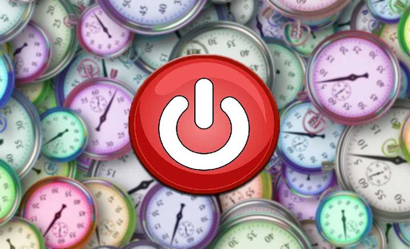 Phần mềm hẹn giờ tắt máy tính tốt nhất